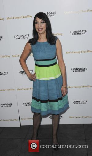 Illeana Douglas - Los Angeles Premiere of 'She's Funny That Way' at Harmony Gold - Red Carpet Arrivals - Los...
