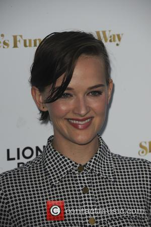 Jess Weixler - Los Angeles Premiere of 'She's Funny That Way' at Harmony Gold - Red Carpet Arrivals - Los...