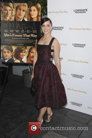 Mena Suvari - Los Angeles Premiere of 'She's Funny That Way' at Harmony Gold - Red Carpet Arrivals - Los...