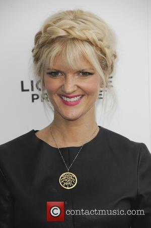 Arden Myrin - Los Angeles Premiere of 'She's Funny That Way' at Harmony Gold - Red Carpet Arrivals - Los...