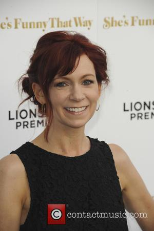 Carrie Preston - Los Angeles Premiere of 'She's Funny That Way' at Harmony Gold - Red Carpet Arrivals - Los...