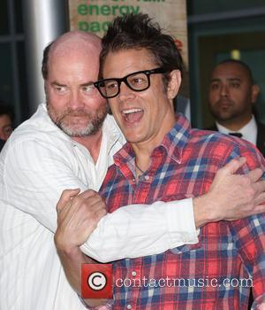 David Koechner and Johnny Knoxville