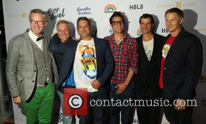 Guest, Kelly Knievel, Jeff Tremaine, Johnny Knoxville, Mat Hoffman and Daniel Junge