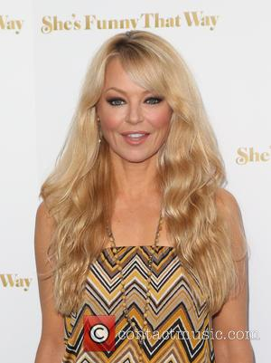 Charlotte Ross - Los Angeles premiere 'She's Funny That Way' at Harmony Gold - Arrivals at Harmony Gold - Los...