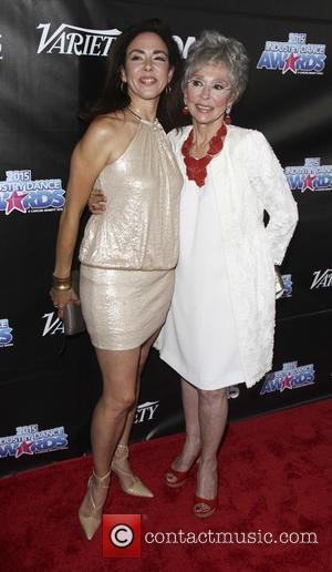 Rita Moreno , Fernanda Gordo - The Industry Dance Awards 2015 at The Avalon Hollywood - Arrivals - Los Angeles,...