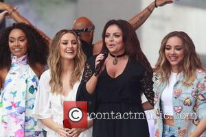 Little Mix - Little Mix performs on NBC's 'Today' show Toyota Concert Series in New York City at The Today...