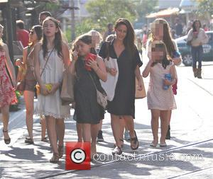 Soleil Moon Frye, Poet Sienna Rose Goldberg, Jagger Joseph Blue Goldberg and Lyric Sonny Roads Goldberg