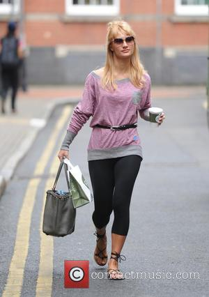 Ola Jordan - Professional dancers of 'Strictly Come Dancing' outside the rehearsal studios at Strictly Come Dancing - London, United...