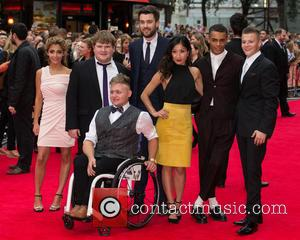 Jack Whitehall, Jack Binstead, Layton Williams , Ethan Lawrence - The World Premiere of 'The Bad Education Movie' held at...