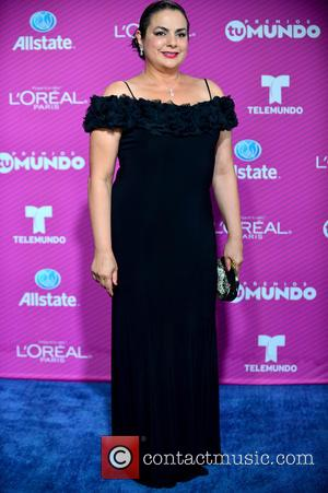 Yadira Santana - Premios Tu Mundo 2015 Awards at the American Airlines Arena - Arrivals at American Airlines Arena -...