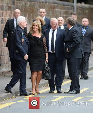 Les Dennis , Mike McCartney - The Funeral of Cilla Black at St Mary's Church - Liverpool, United Kingdom -...