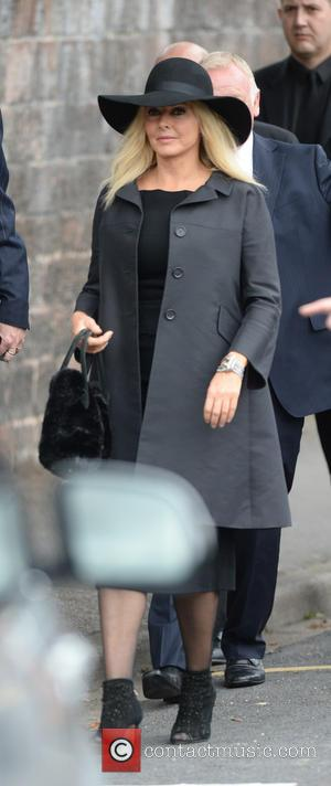Carol Vorderman - The Funeral of Cilla Black at St Mary's Church - Liverpool, United Kingdom - Thursday 20th August...
