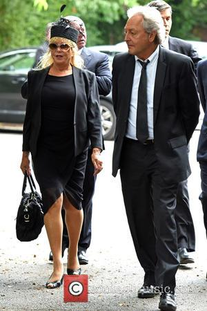 Pattie Boyd - The funeral of Cilla Black at St Mary's Church - Liverpool, Cheshire, United Kingdom - Thursday 20th...
