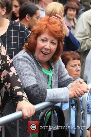 Brenda Collins , Cilla Black lookalike - The funeral of Cilla Black at St Mary's Church, Woolton - Liverpool, United...