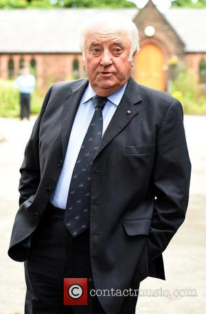 Jimmy Tarbuck - The Funeral of Cilla Black at St Mary's Church, Woolton - Liverpool, United Kingdom - Thursday 20th...