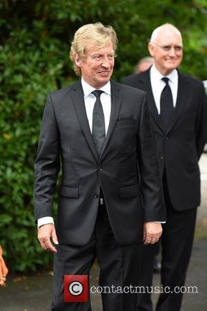 Nigel Lythgoe - The Funeral of Cilla Black at St Mary's Church, Woolton - Liverpool, United Kingdom - Thursday 20th...