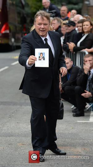 Ted Robins - The Funeral of Cilla Black at St Mary's Church, Woolton - Liverpool, United Kingdom - Thursday 20th...