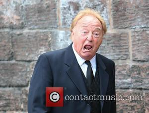 Gerry Marsden - The funeral of Cilla Black at St Mary's Church, Woolton - Liverpool, United Kingdom - Thursday 20th...