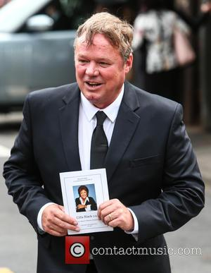 Ted Robbins - The funeral of Cilla Black at St Mary's Church, Woolton - Liverpool, United Kingdom - Thursday 20th...