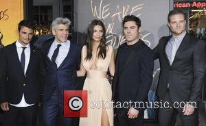 Shiloh Fernandez, Max Joseph, Emily Ratajkowski, Zac Efron , Jonny Weston - Los Angeles premiere of Warner Bros. Pictures 'We...