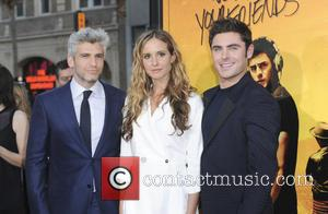 Max Joseph, Meaghan Oppenheimer and Zac Efron