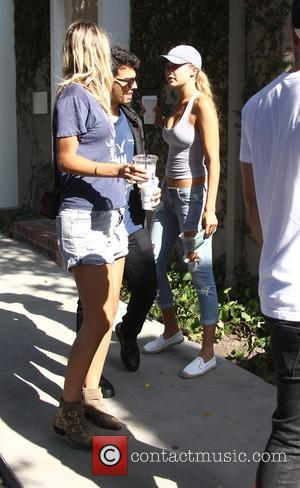 Joe Jonas , Gigi Hadid - Joe Jonas and Gigi Hadid shopping in Beverly Hills - Los Angeles, United States...