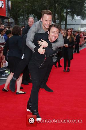 Olly Murs , Jonathan Ross - The Bad Education Movie premiere held at the Vue cinema - Arrivals - London,...