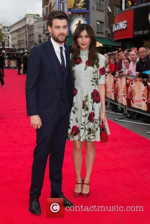 Jack Whitehall , Gemma Chan - U.K. premiere of 'The Bad Education Movie' - Arrivals at The Vue,Leicester Square -...