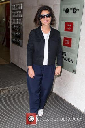 Jessie Ware - Jessie Ware pictured arriving at the Radio 1 studios at BBC Portland Place - London, United Kingdom...