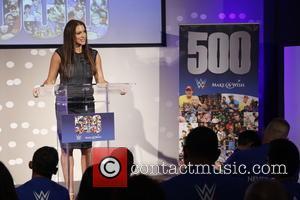 John Cena and Stephanie Mcmahon