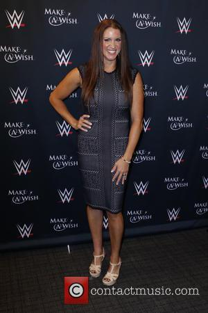 Stephanie McMahon - Make-A-Wish Foundation celebrates WWE superstar John Cena's 500th granted wish at Dave & Busters Times Square at...