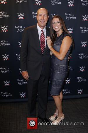 Stephanie McMahon , David Williams - Make-A-Wish Foundation celebrates WWE superstar John Cena's 500th granted wish at Dave & Busters...