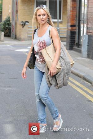 Kristina Rihanoff - Strictly Come Dancing rehearsals in London at Strictly Come Dancing - London, United Kingdom - Friday 21st...