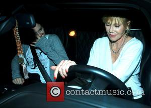 Melanie Griffith - Celebrities visit Craig's restaurant in West Hollywood - Los Angeles, California, United States - Friday 21st August...