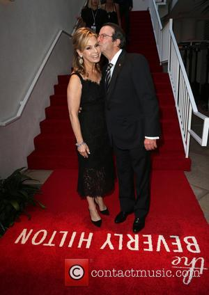 Adele Alagem , Beny Alagem - The Beverly Hilton 60th 'Diamond' Anniversary Celebration at the Aqua Star Pool - Inside...