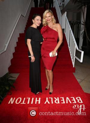 Lilith Berdischewsky and Natasha Henstridge