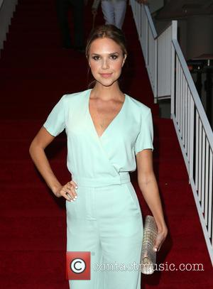 Arielle Kebbel - The Beverly Hilton 60th 'Diamond' Anniversary Celebration at the Aqua Star Pool - Inside at The Beverly...