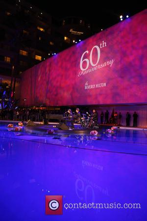 Gavin DeGraw - The Beverly Hilton 60th 'Diamond' Anniversary Celebration at the Aqua Star Pool - Inside at The Beverly...