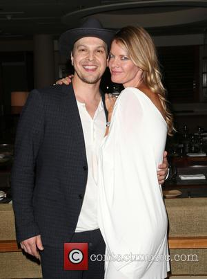 Gavin DeGraw , Michelle Stafford - The Beverly Hilton 60th 'Diamond' Anniversary Celebration at the Aqua Star Pool - Inside...