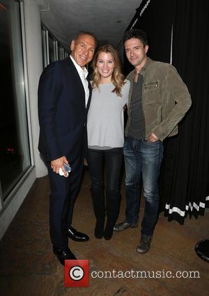 Neil Lane, Ashley Hinshaw and Topher Grace