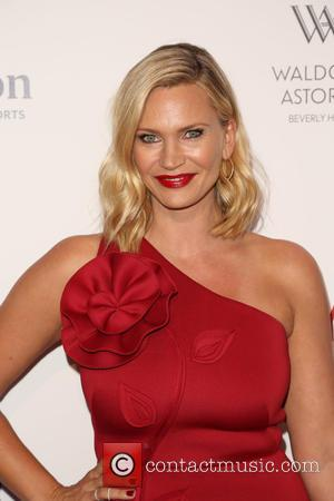 Natasha Henstridge - The Beverly Hilton 60th 'diamond' anniversary celebration at the Aqua Star Pool at The Beverly Hilton, Aqua...