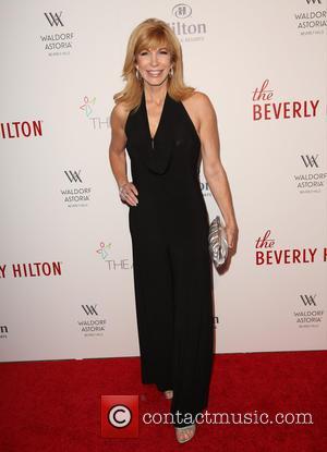 Leeza Gibbons - The Beverly Hilton 60th 'diamond' anniversary celebration at the Aqua Star Pool at The Beverly Hilton, Aqua...
