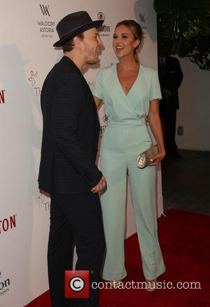 Gavin DeGraw , Arielle Kebbel - The Beverly Hilton 60th 'diamond' anniversary celebration at the Aqua Star Pool at The...