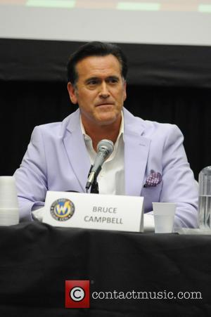 Bruce Campbell - Wizard World Comic Con Chicago 2015 - Day 2 - Inside at Donald E. Stephens Convention Center,...