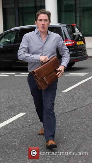 Rob Brydon at BBC Western House
