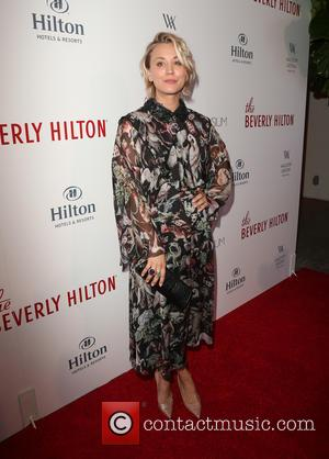 Kaley Cuoco - The Beverly Hilton 60th 'Diamond' Anniversary Celebration at the Aqua Star Pool - Arrivals at The Beverly...