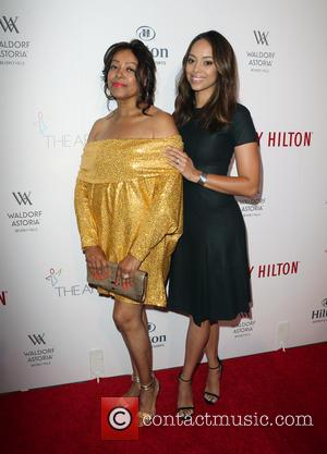 Amber Stevens and Beverly Cunningham