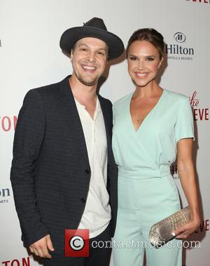 Gavin DeGraw , Arielle Kebbel - The Beverly Hilton 60th 'Diamond' Anniversary Celebration at the Aqua Star Pool - Arrivals...