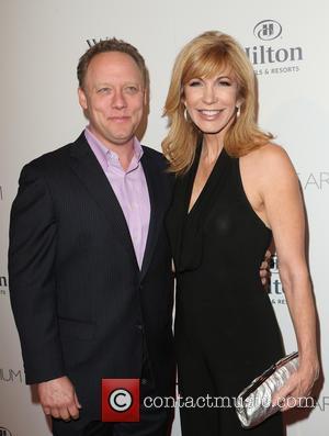 Leeza Gibbons , Steven Fenton - The Beverly Hilton 60th 'Diamond' Anniversary Celebration at the Aqua Star Pool - Arrivals...