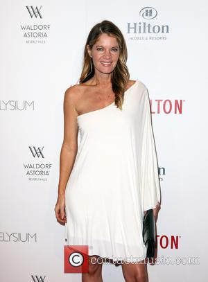 Michelle Stafford - The Beverly Hilton 60th 'Diamond' Anniversary Celebration at the Aqua Star Pool - Arrivals at The Beverly...